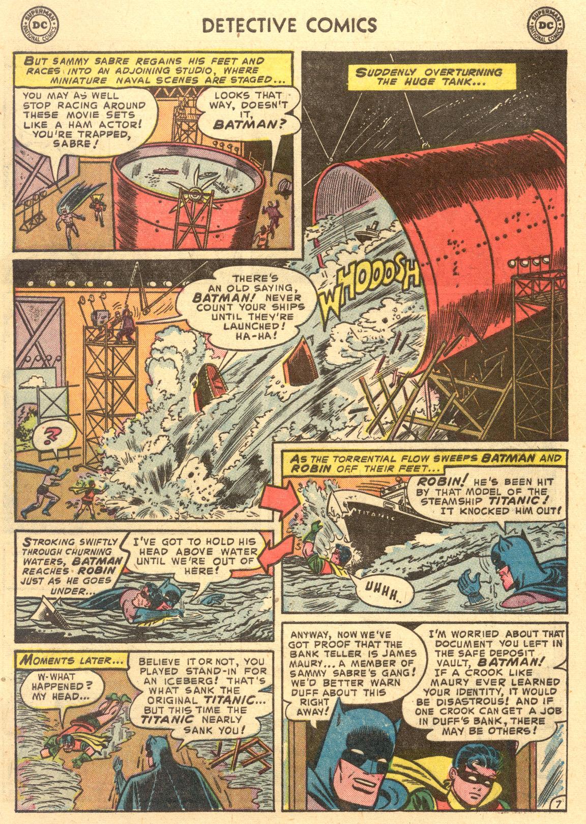 Read online Detective Comics (1937) comic -  Issue #194 - 9