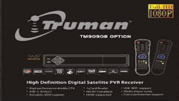 تحديث جديد لجهاز truman-TM 9090 B OPTION