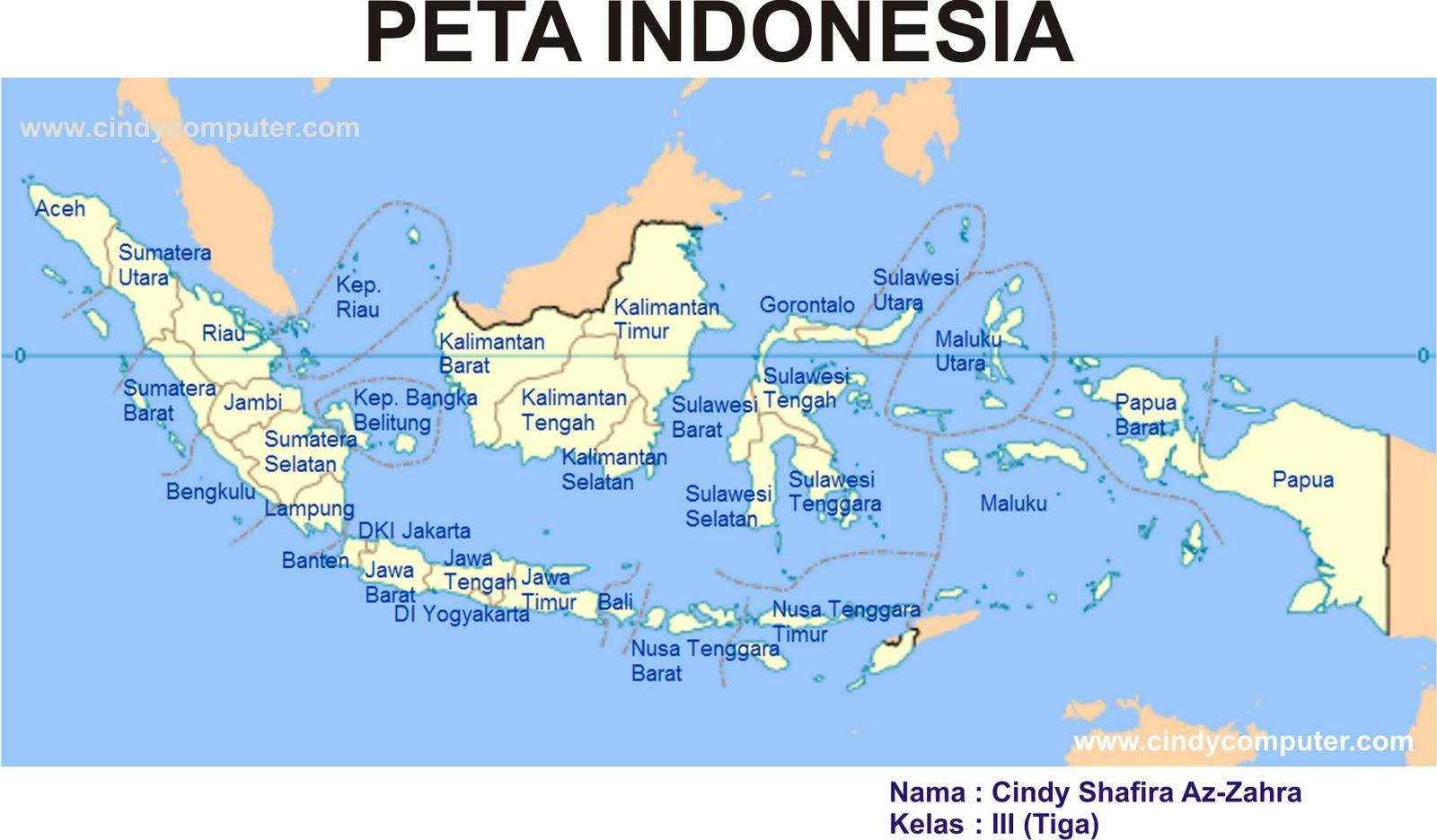 Image Result For Peta Indonesia Lengkap