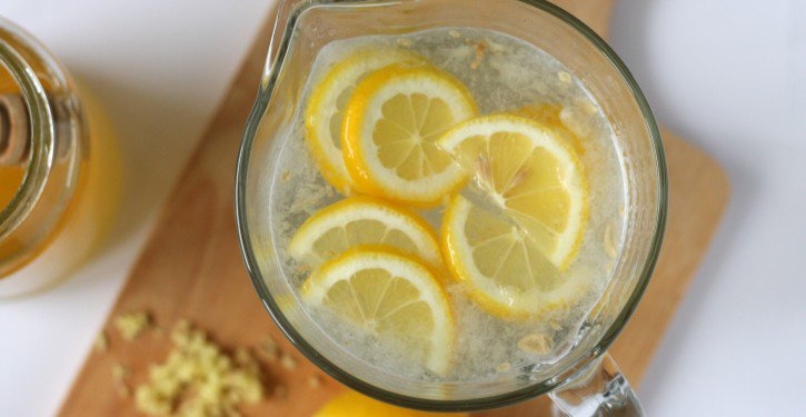 Drink Lemon Water Instead Of Drugs