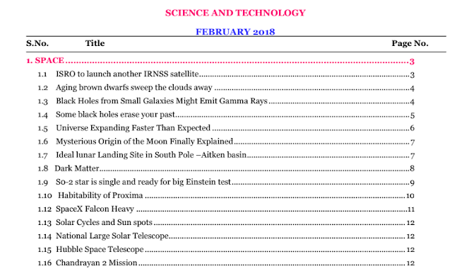 Science And Technology February 2018 Compilation PDF Download