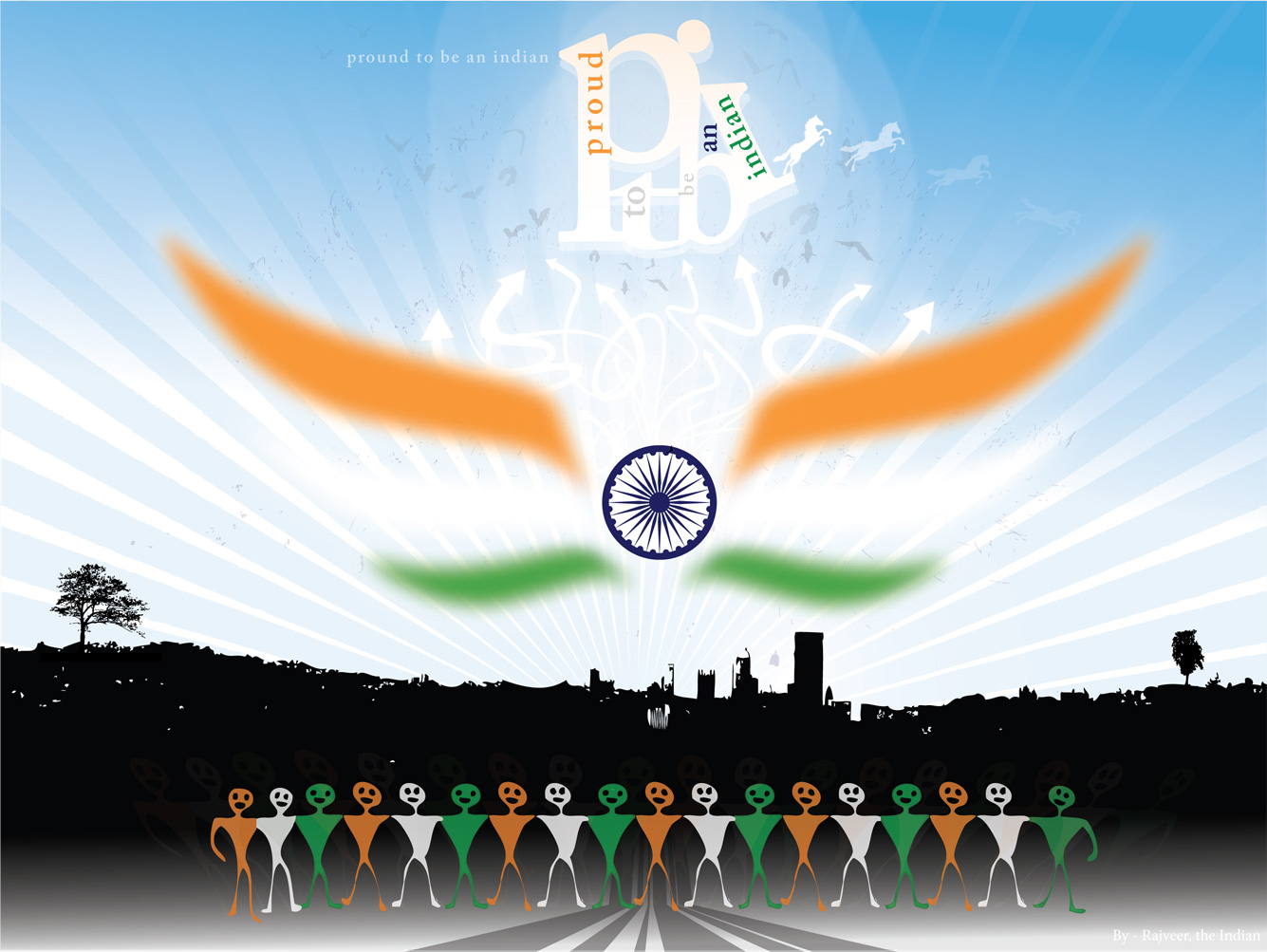 Free Wallpapers: Indian Independence Day wallpapers   Celebrations of Indian Independence Day