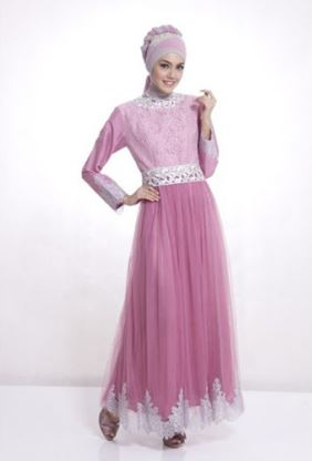 Model Gaun Pesta Muslim Modern Terbaru Ootd Hijabers