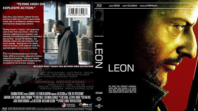 Leon Bluray Cover