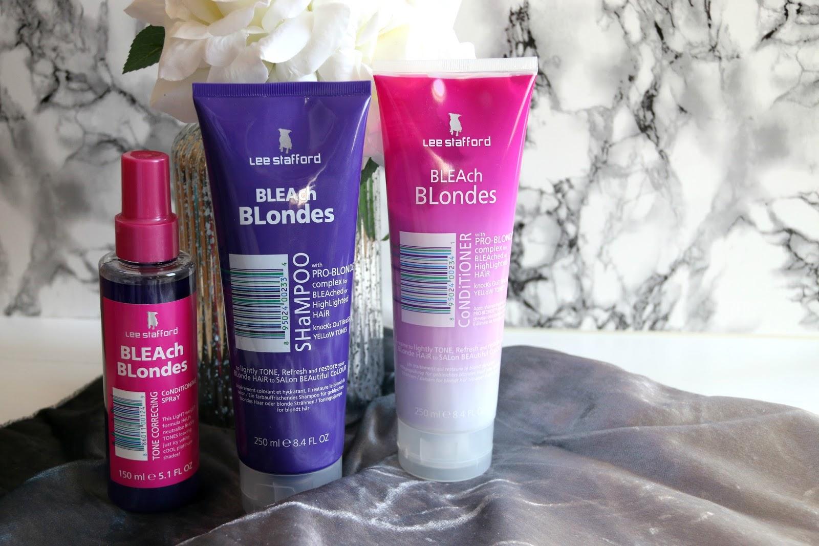 Lee Stafford Bleach BLEAch BLondes Hair Care Review WhatLauraLoves UK Beauty Blogger