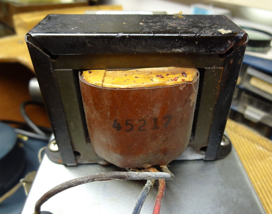 Sold - Vintage FENDER 5E5 Tweed Pro Replacement Output