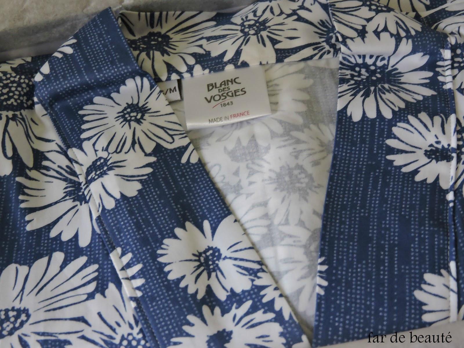 mon joli kimono blanc des vosges. Black Bedroom Furniture Sets. Home Design Ideas