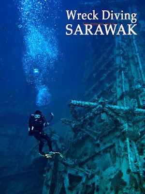 Kuching Wreck Diving Photo