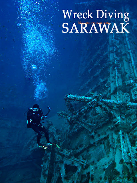Kuching Wreck Diving Photo