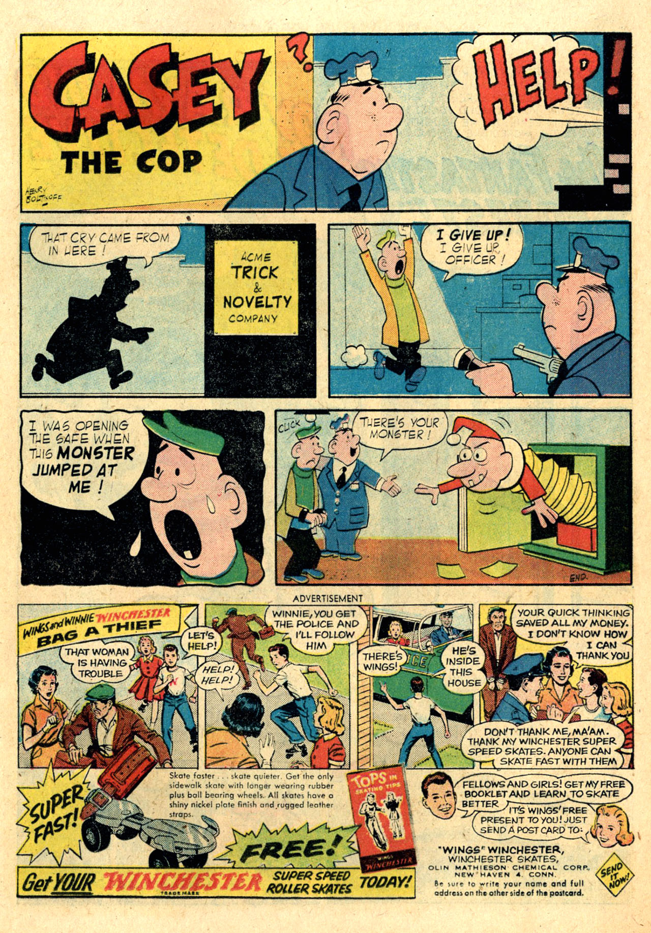 Read online Detective Comics (1937) comic -  Issue #260 - 17