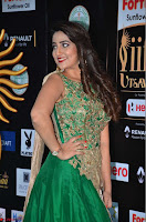 Manjusha in Beautiful Sleeveless Green Anarkali dress at IIFA Utsavam Awards 34.JPG