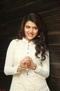 Beautiful Sexy Chitra Shukla in Cream Kurti and Maroon Paijama