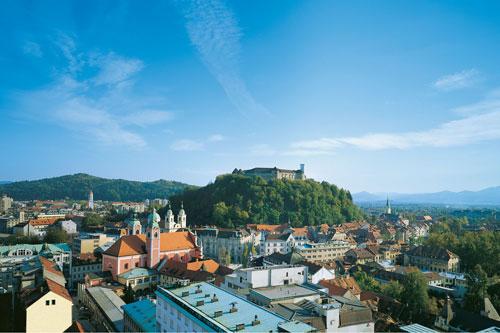 Liubliana, Capital da Eslovênia