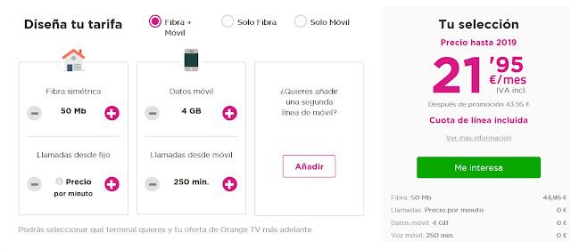 Jazztel ofrece su fibra rebajada hasta 2019