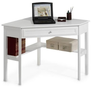 White corner desk white corner desk with drawers - Corner desks canada ...