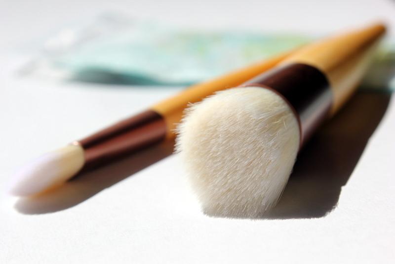 Отзыв: Кисти, предназначенные для BB/CC кремов - EcoTools, Skin Perfecting Brush + Bonus Prep & Prime Brush, 2 Brushes.