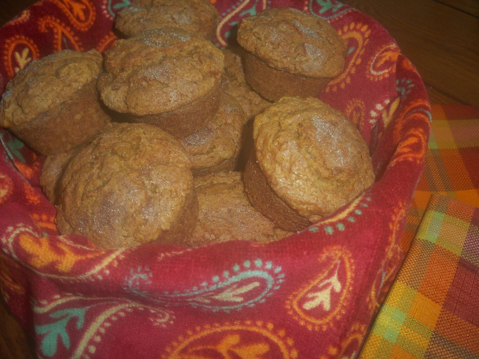 Pumpkin Spice Bread Muffins