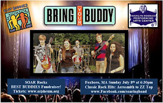 Teenage Classic Rock Band SOAR to Host Fundraiser to Benefit Best Buddies - July 8