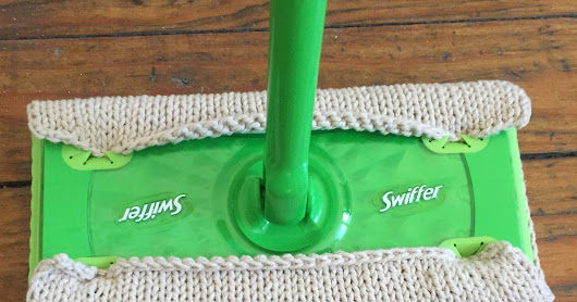 Sent by Sarah: Reusable Swiffer Cover: a fail and a fix