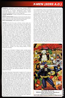 XMen 2099 Comics