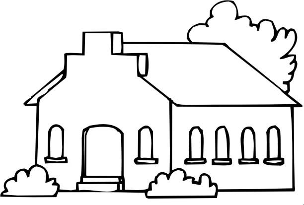 Desenho Biblico Para Pintar Igreja 1