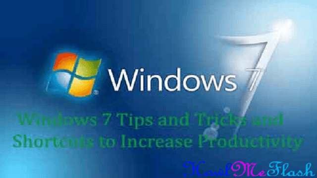 Windows 7 Tips and Tricks and Shortcuts