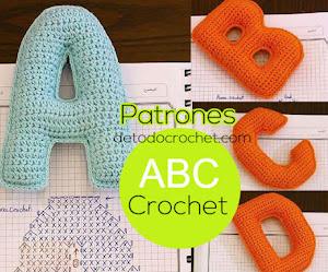 Patrones de Abecedario a Crochet / Patrones de Crochet Gratis
