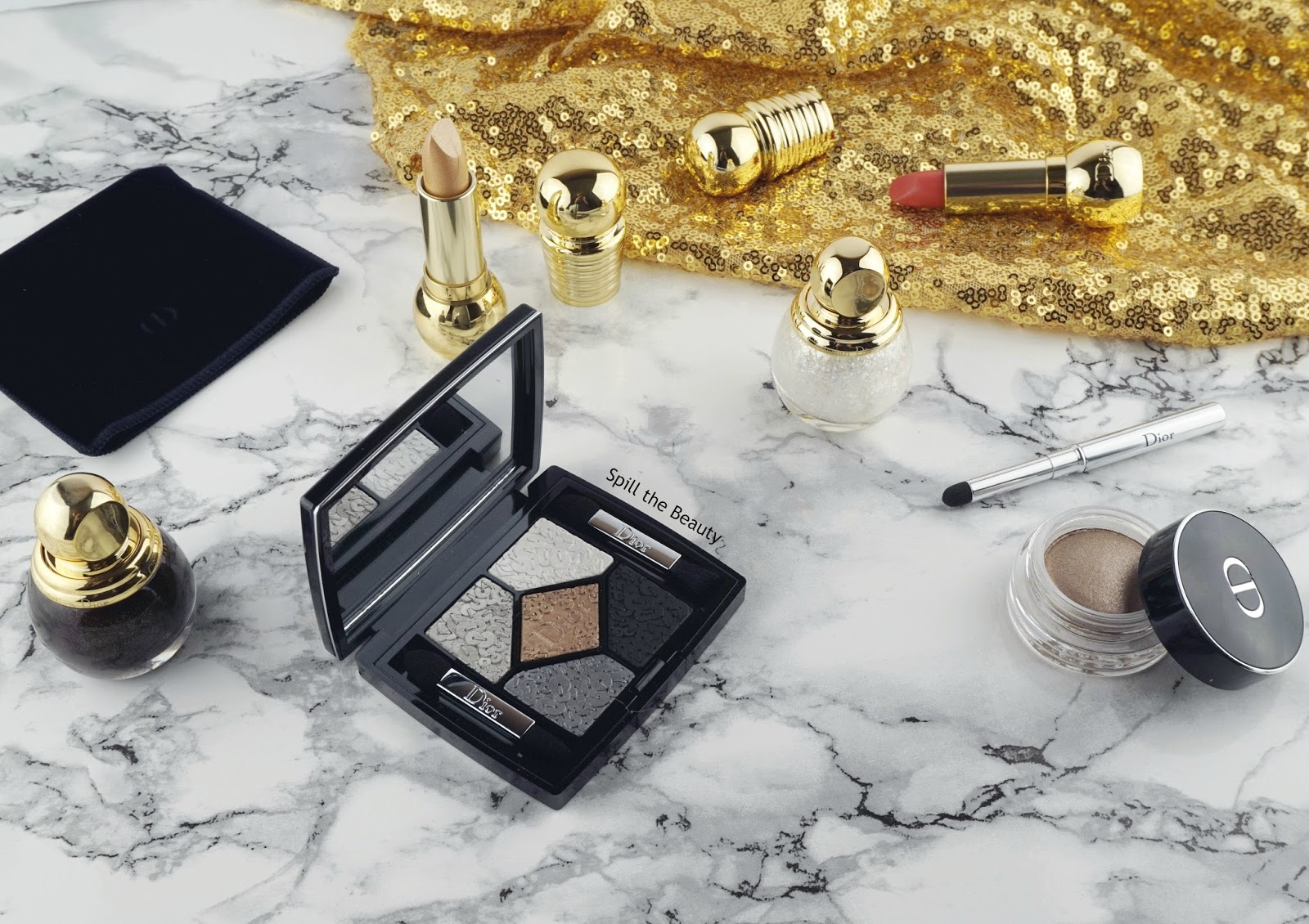dior holiday makeup 2016 1 review swatches splendor