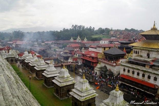 Pashupatinath, vista panoramica