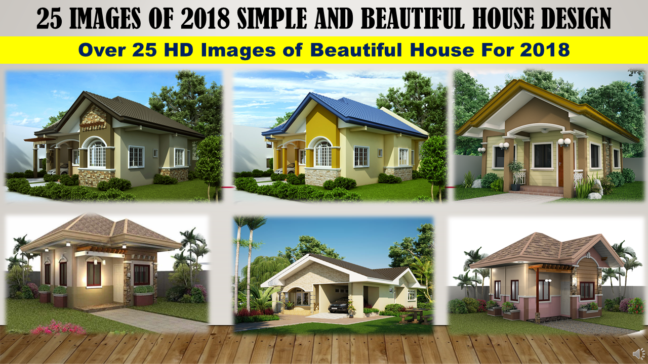 2018 list of the best simple small beautiful and elegant for Simple but beautiful house plans