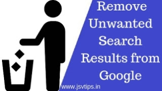Remove Unwanted Search Results from Google