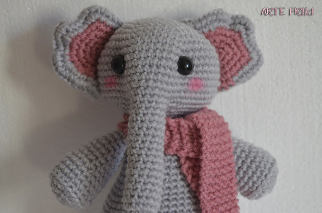 elefante amigurumi crochet ganchillo tejido amigurumi elephant animal cute kawaii