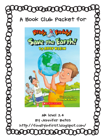 https://www.teacherspayteachers.com/Product/Save-the-Earth-A-Ready-Freddy-Book-Club-Packet-232532