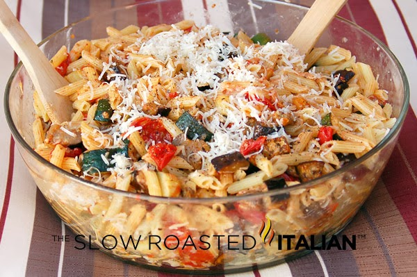 http://www.theslowroasteditalian.com/2012/02/roasted-vegetable-penne-pasta.html