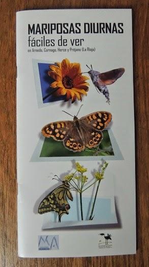 Mariposas diurnas fáciles de ver en Arnedo, Cornago, Herce y Préjano
