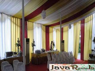 Sewa Tenda Dekorasi VIP - Rental Tenda VIP Murah