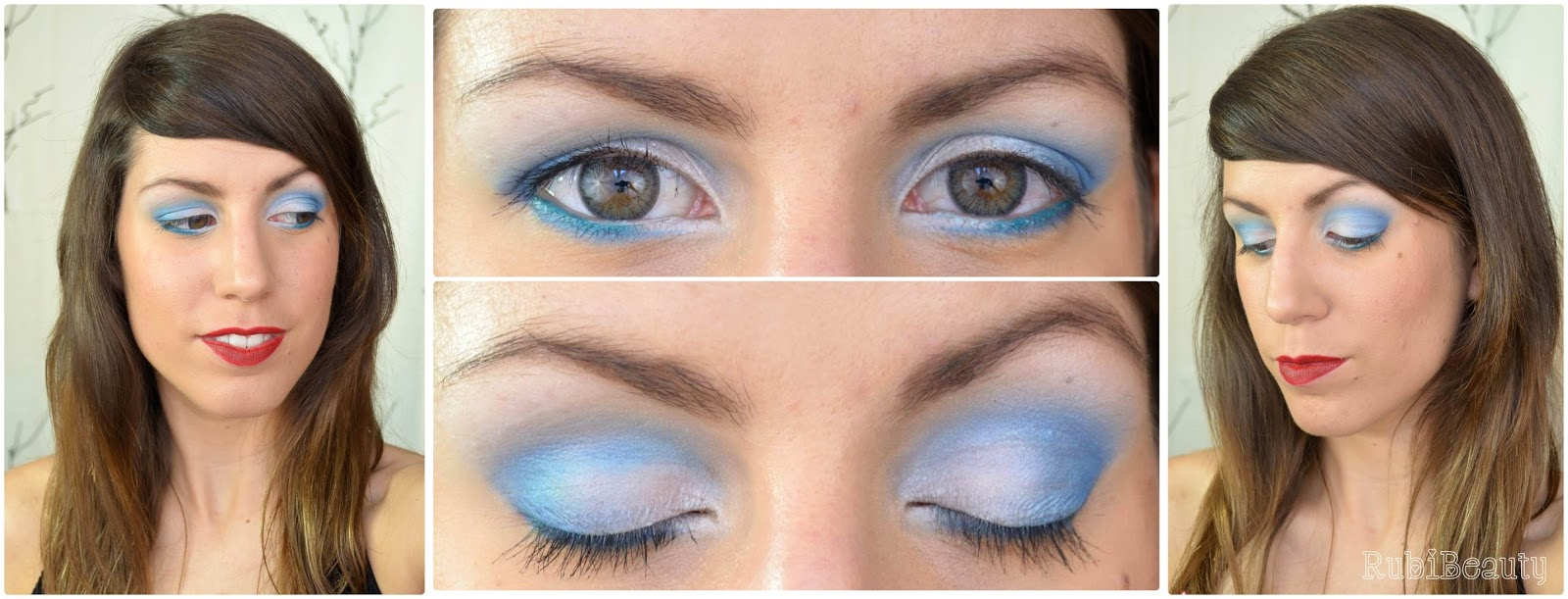 rubibeauty maquillaje white sailor blanco marinero verano it huelva lentillas