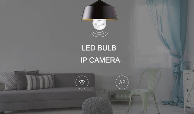 إليك كاميرا IP لا سلكية بدرجة تصوير 360 مدمجة في مصباح من شركة Alfawise