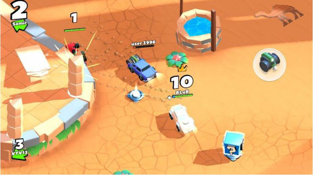 Crash of Cars: Bumper Cars on Steroids Free