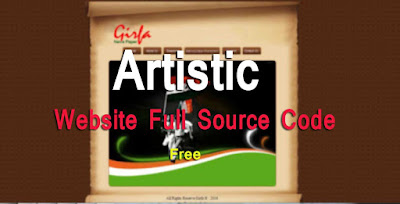 Artistic Website free download