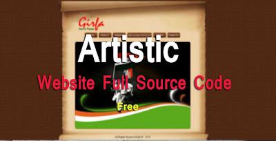 Artistic Website free download
