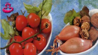 سلطة الدجاج -مقادير- طماطم - بصل  - مطبخ سيدتي
