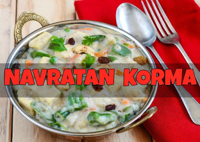 Recipe - Navratan Korma In Hindi