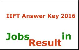 IIFT Answer Key 2016