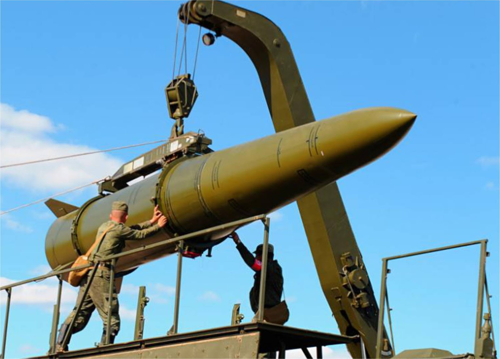 Kementerian Pertahanan Rusia Menguji Rudal Baru Untuk Menggantikan Komplek Iskander