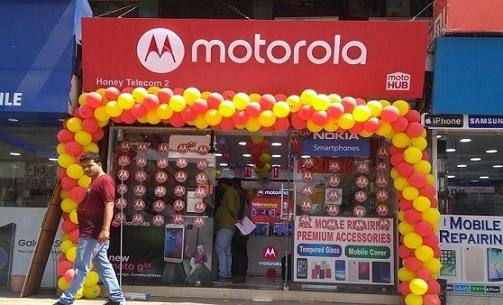 Moto Hub Stores in Western Uttar Pradesh