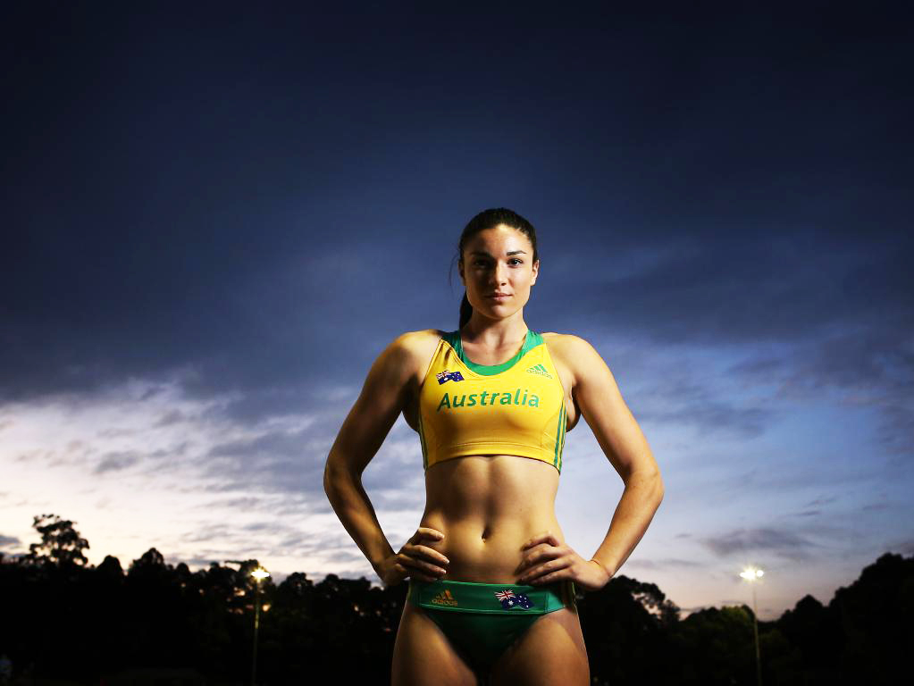 atlet bulutangkis australia cantik Model olahraga Lari Gawang Michelle Jenneke china atlet catur australia cantik Model olahraga Lari Gawang Michelle Jenneke dunia