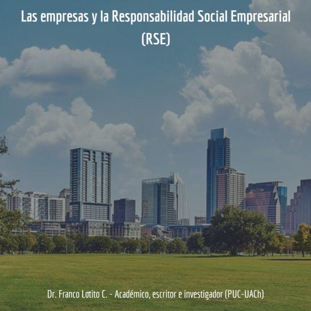 Las empresas y la Responsabilidad Social Empresarial (RSE)