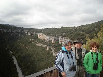 Un recorrido en Otoño. P.N. Cañones del Ebro.