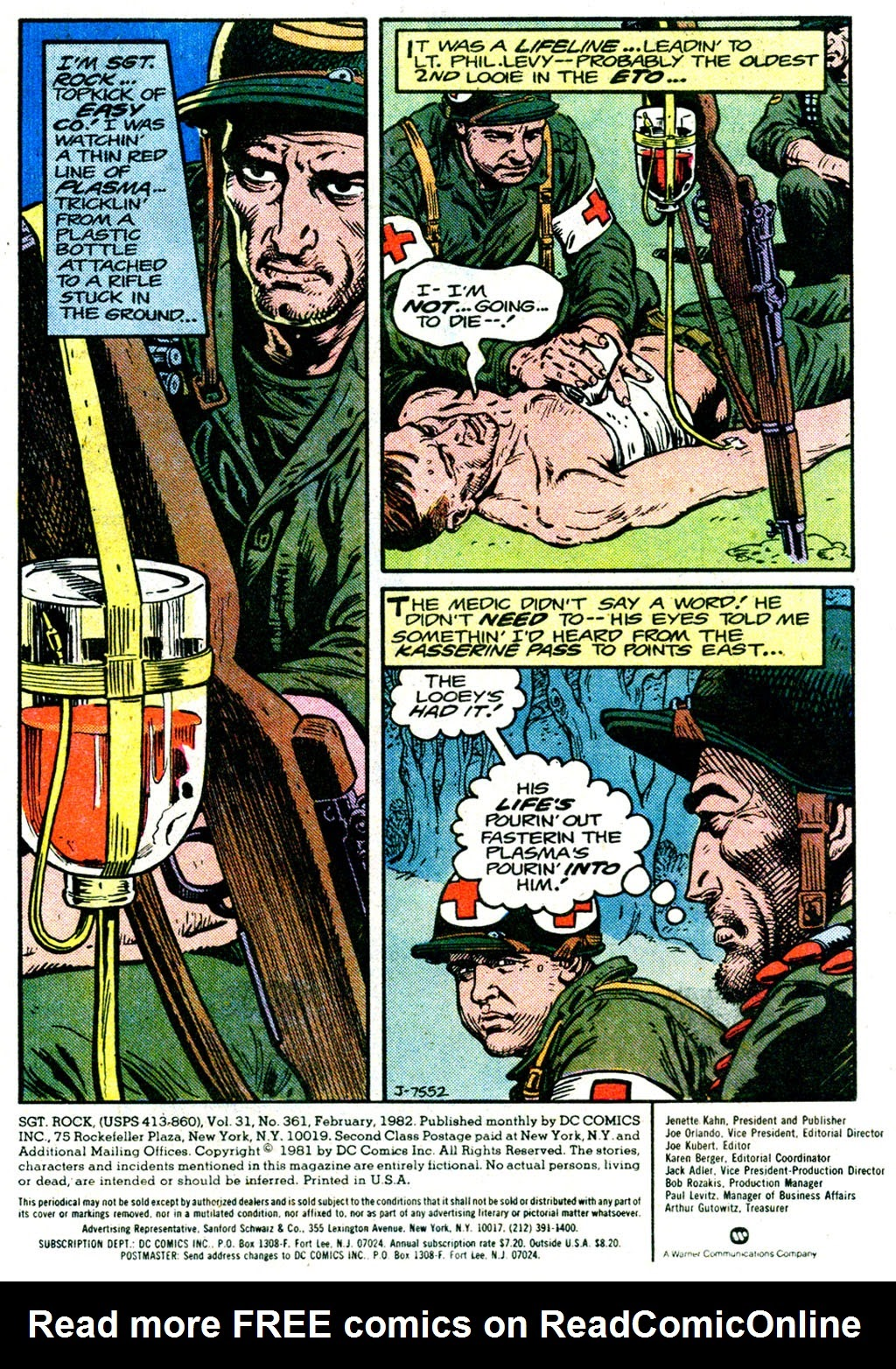 Sgt. Rock issue 361 - Page 2